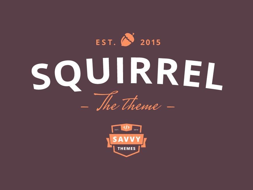ST Squirrel WordPress shopping theme