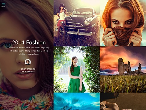 Stellar wallpapers WordPress theme