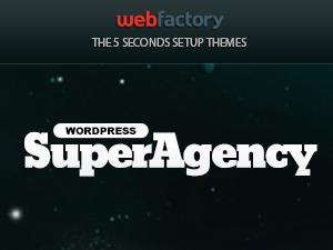 Super Agency - Responsive WordPress Single Page Theme WP template