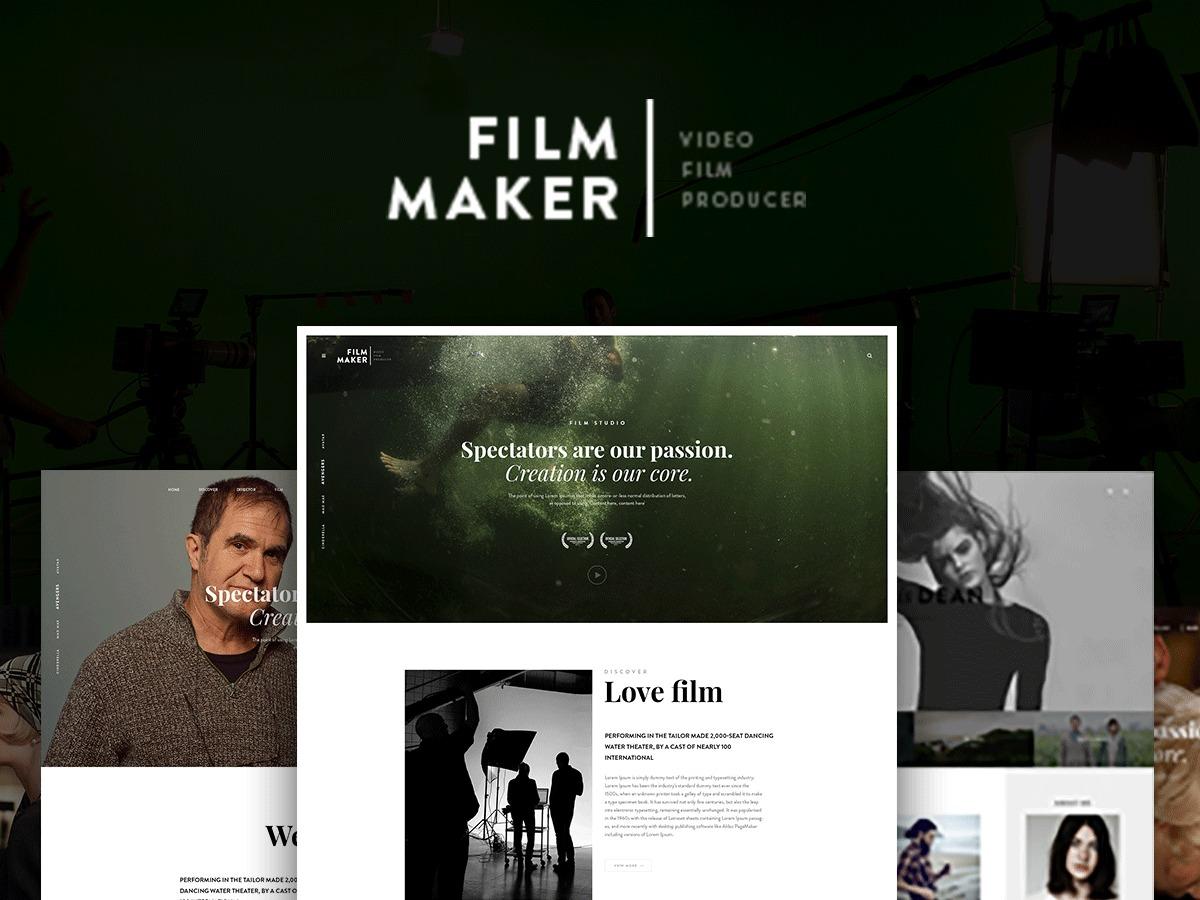 Template WordPress Filmmaker