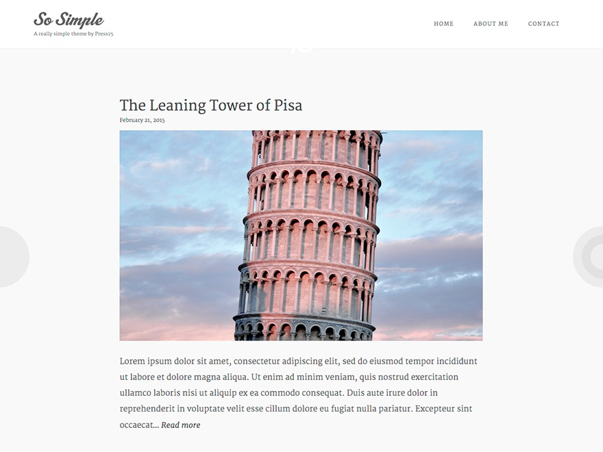Template WordPress So Simple 75