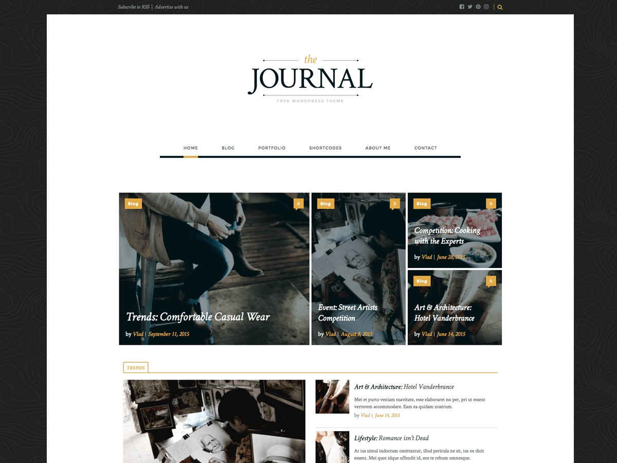 The Journal best WordPress magazine theme