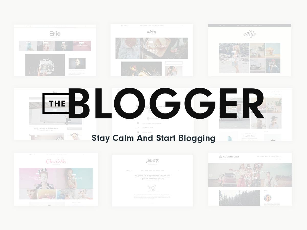 TheBlogger WordPress blog theme