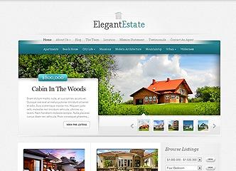 Theme WordPress Elegant Estate