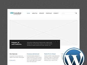 Theme WordPress Executive WP