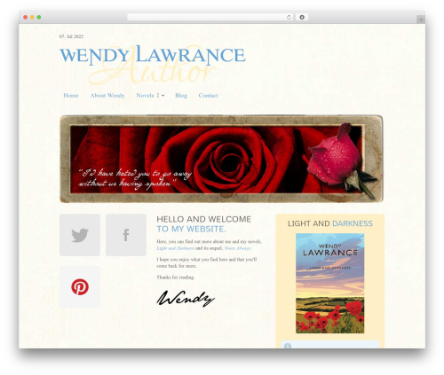 Theme WordPress MiCasa - wendylawrance.co.uk