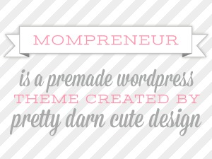 Theme WordPress MomPrenuer Child Theme