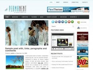 Theme WordPress Permanent