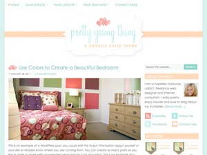 Theme WordPress Pretty Young Thing Child Theme