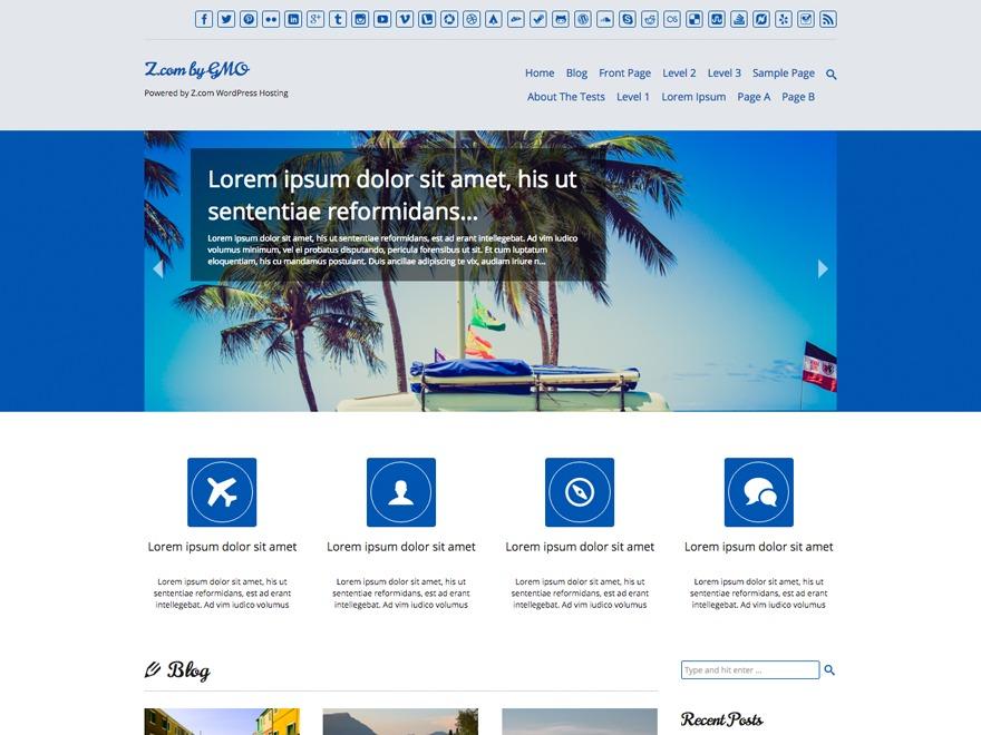 Theme WordPress Tidy