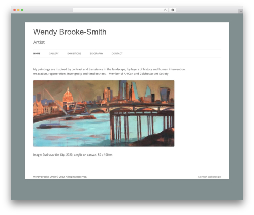 Theme WordPress Twenty Twelve - wendybrooke-smith.com