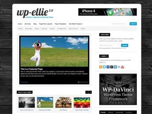 Theme WordPress WP-Ellie
