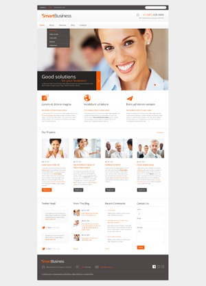 theme1672 best WordPress template