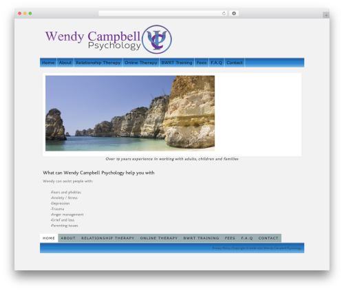 Thesis WP theme - wendycampbellpsychology.com
