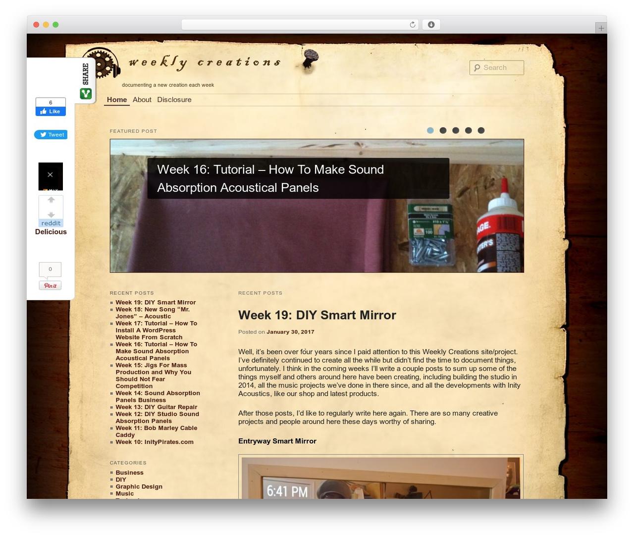 Twenty Eleven WordPress free download - weeklycreations.com