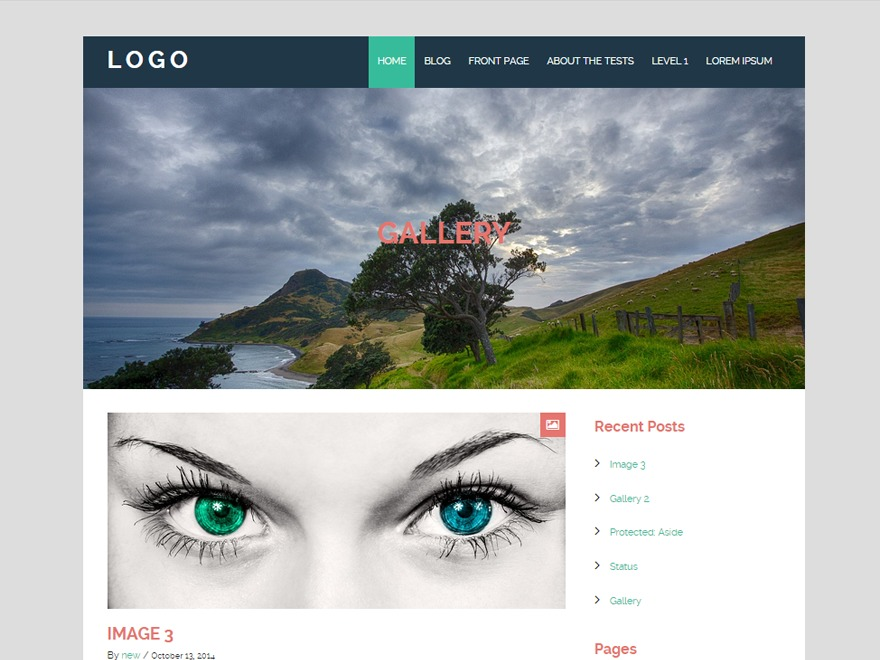 Urban Bold WordPress blog template