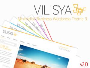 Vilisya company WordPress theme