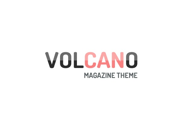 Volcano - Responsive Wordpress Magazine / Blog Theme WordPress blog template