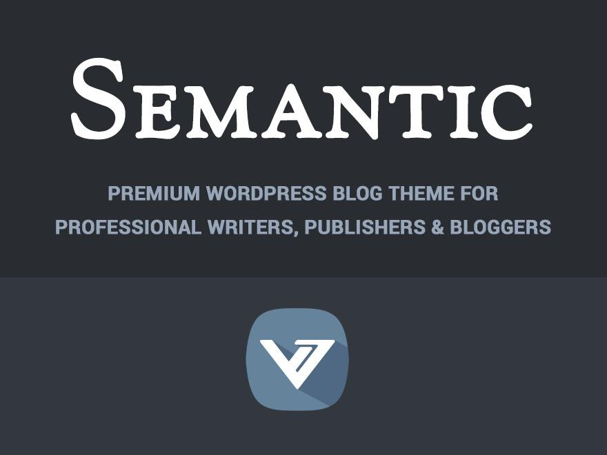 (VT) Semantic WordPress blog template
