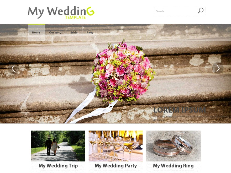 Weddings best wedding WordPress theme