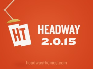 WordPress template Headway