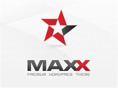 WordPress template Maxx