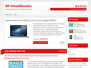 WordPress template WP Amazillionaire