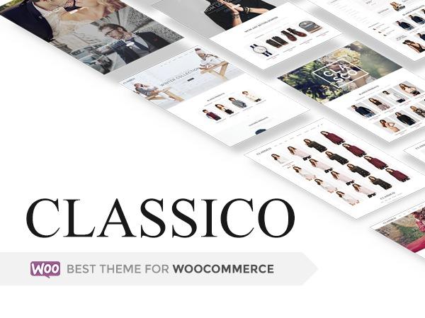 WordPress theme Classico - 8theme WordPress theme