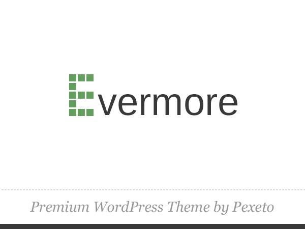 WordPress theme Evermore