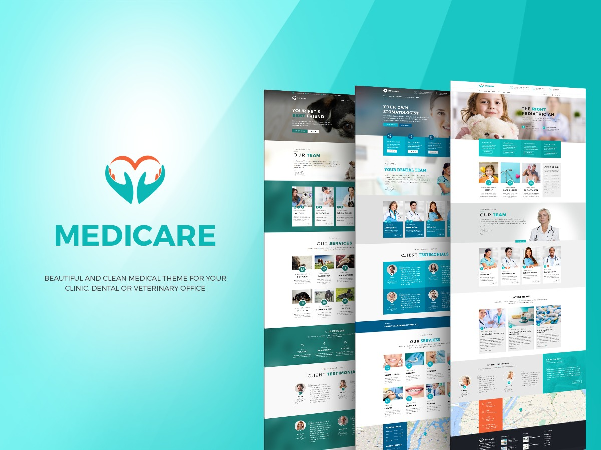 WordPress theme Medicare