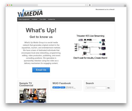 WordPress theme Responsive - whatsupmedia.com