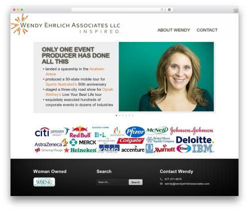 WordPress theme Striking - wendyehrlichassociates.com