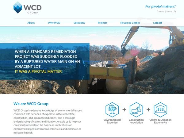 WordPress theme WCD Group