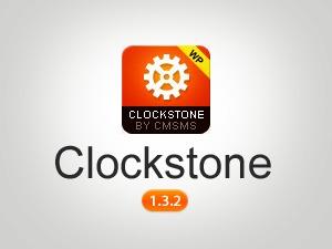 WordPress website template Clockstone