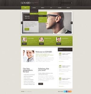 WordPress website template WordPress Theme Number