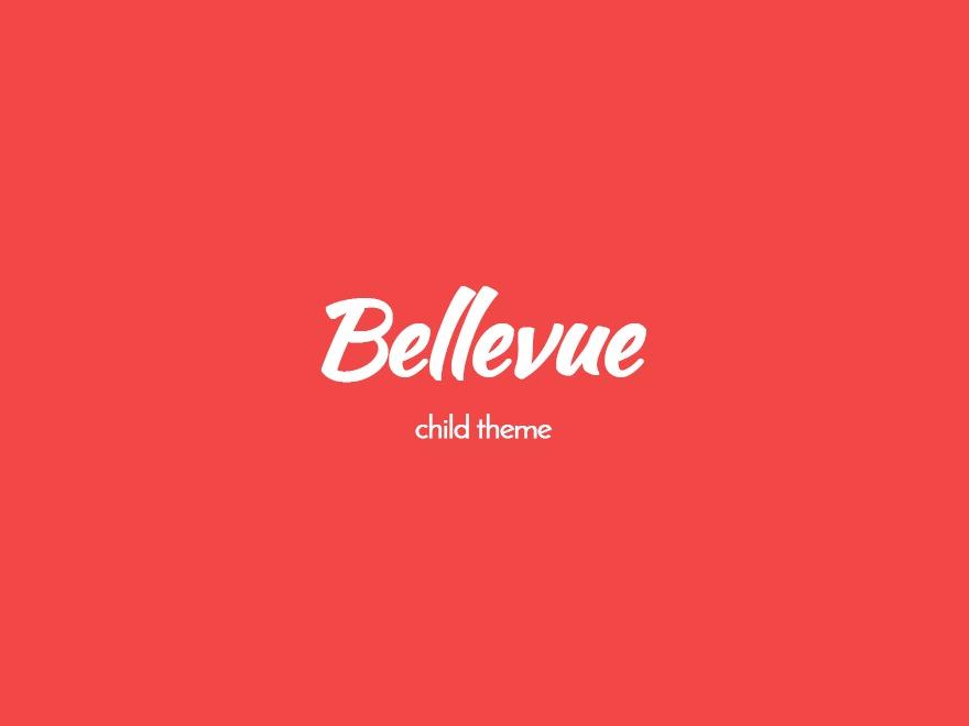 WP template Bellevue Child Theme