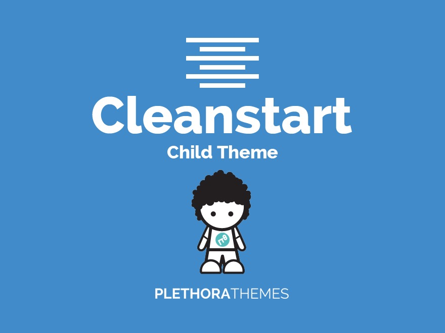WP template CleanStart Child