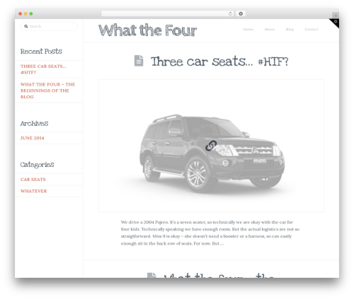 WP template X - whatthefour.com
