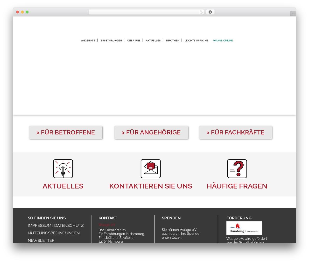 WP theme Stockholm - waage-hh.de