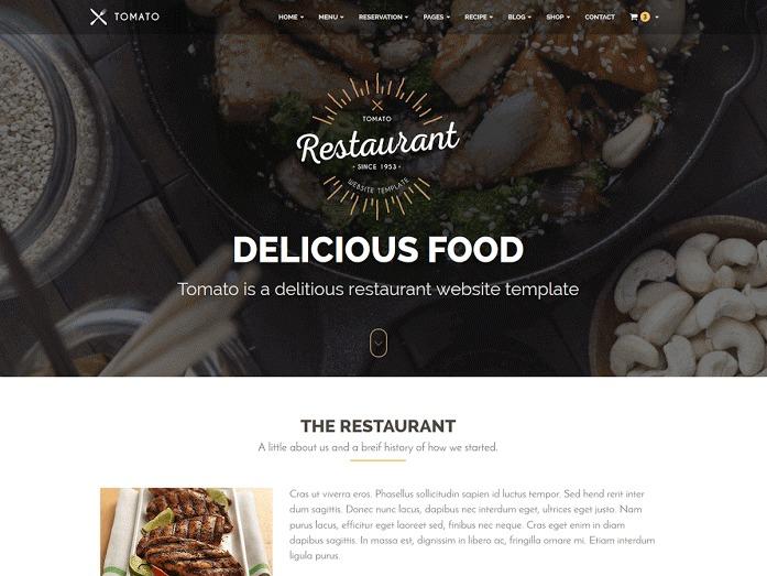 WP theme Tomato
