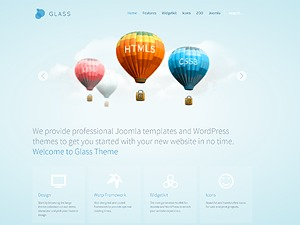 WP theme yoo_glass