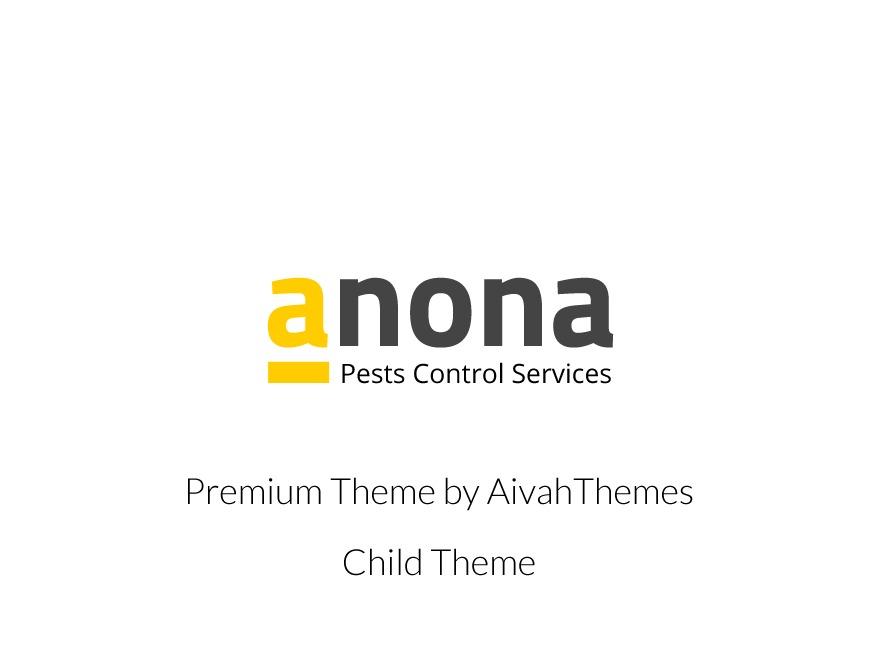 Anona Child WordPress theme