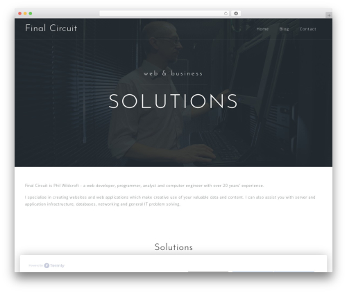 Astrid top WordPress theme - finalcircuit.com
