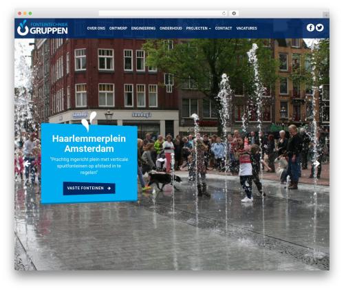 Best WordPress template Aquila - fonteintechniekgruppen.nl