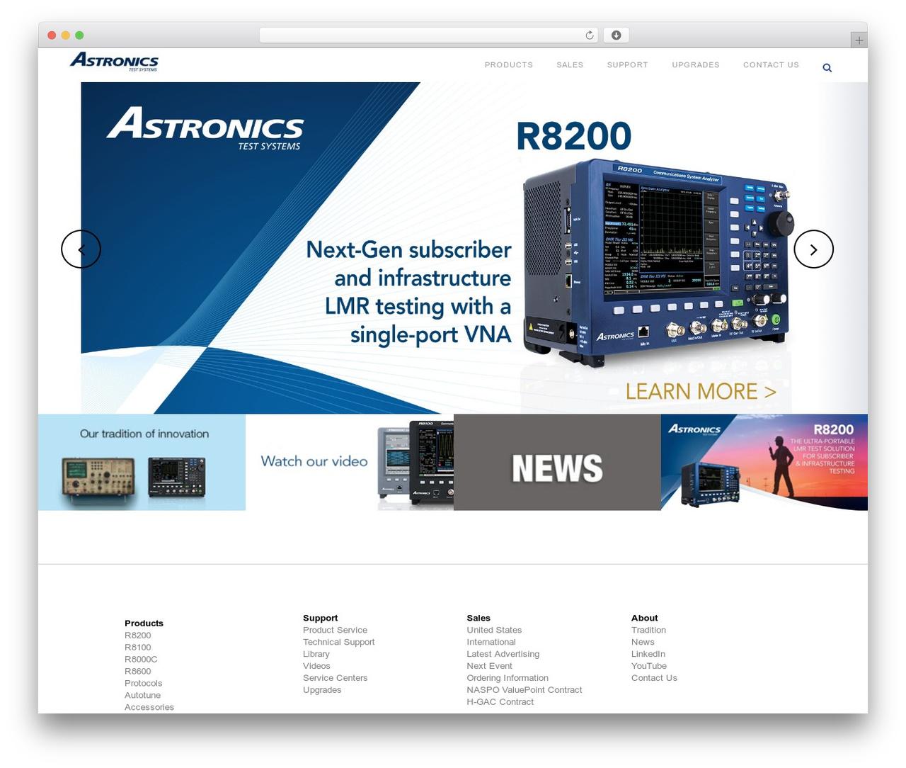 Best WordPress template Bridge - freedomcte.com