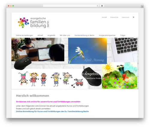 Catch Base Pro top WordPress theme - familienbildung-berlin.de