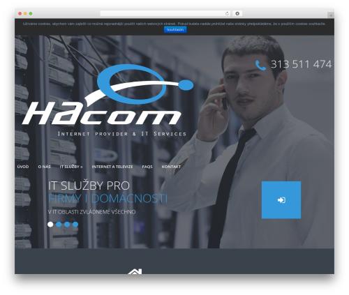 cherry best WordPress template - hacomshop.cz
