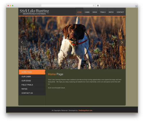 Clarion WordPress page template - foxrealty.us