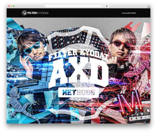 Divi theme WordPress - filterkyodai.com