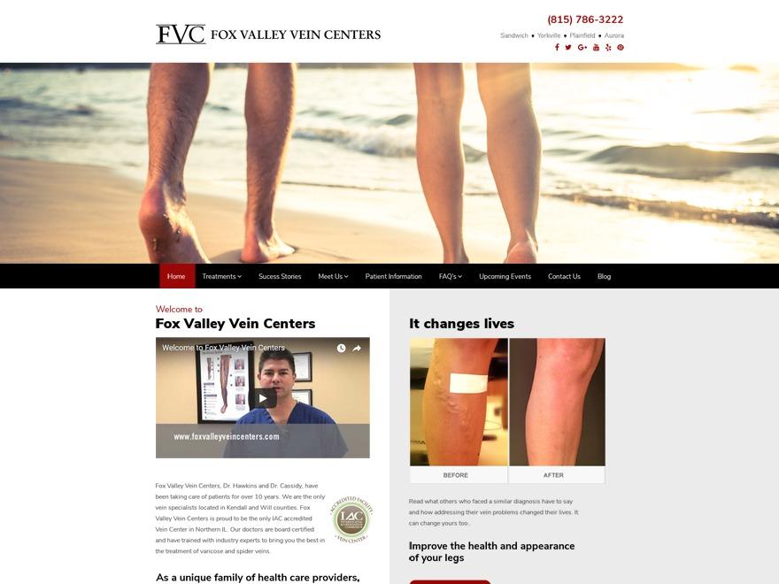 foxvalleyveincenters WordPress theme